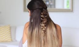 Những kiểu tóc đẹp mê ly nhưng chỉ mất vài phút để thực hiện