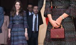 Có diện đồ xa xỉ nhưng đây là lần đầu tiên Công nương Kate mặc cả 'cây' Chanel