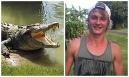 Bất chấp nguy hiểm, chàng trai 9x nhảy xuống sông đầy cá sấu để được hẹn hò với đàn chị
