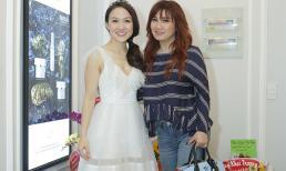 Vợ cũ Bằng Kiều kém sắc tái xuất chúc mừng Phan Đinh Tùng