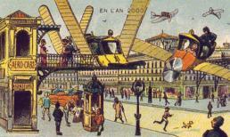 Thế giới hiện đại trong trí tưởng tượng của con người hơn 100 năm trước