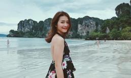 Khả Ngân xinh đẹp, rạng rỡ ở Thái Lan