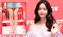 Trẻ trung, xinh đẹp nhưng Yoona (SNSD) lại mất điểm vì đi đôi dép quá 'xấu'