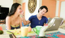 Vợ chồng Dustin Nguyễn tình tứ trong căn nhà hạnh phúc
