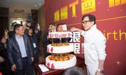 Chẳng bận tâm chuyện 'con rơi' tự tử, Thành Long vẫn tổ chức sinh nhật hoành tráng
