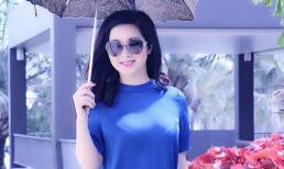 Mặc đồ đơn giản, Hoa hậu Đền Hùng Giáng My vẫn vô cùng xinh đẹp