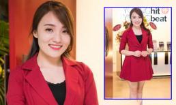 Nhật Thủy diện váy ngắn gợi cảm đến chúc mừng Mỹ Linh