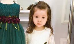 Cứ xinh như thiên thần thế này, bảo sao con gái Elly Trần bị nhầm là búp bê