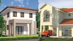 10 mẫu nhà hai tầng có thiết kế đơn giản mà đẹp mắt