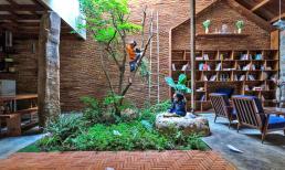 Ngôi nhà 120m có cây xanh trong nhà khiến ai xem cũng trầm trồ