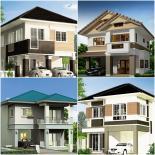 10 ngôi nhà biệt thự có thiết kế 2 tầng đẹp mãn nhãn