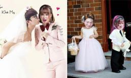 'Cười ngất' trước loạt ảnh cưới của Khởi My và Kelvin Khánh được fans ghép tặng