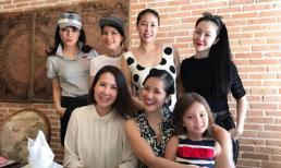 Mẹ con Hồng Nhung và loạt mỹ nhân Việt hội ngộ tại khách sạn của Hà Kiều Anh