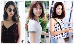 Học các mỹ nhân Thái diện tóc ngắn cực xinh trong hè