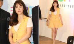 """Song Hye Kyo bị chê mập mạp khi diện trang phục váy như thời đóng """"Ngôi nhà hạnh phúc"""""""