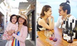 Gia đình mỹ nhân đẹp nhất Philippines hạnh phúc đi du lịch ở đảo Santorini