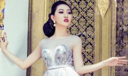 Hoa hậu Huỳnh Thúy Anh khoe vẻ đẹp quyền quý ở Thái Lan