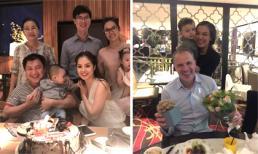 Dương Cẩm Lynh, Lý Thanh Thảo tổ chức sinh nhật cho chồng
