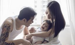Khoảnh khắc hạnh phúc ngọt ngào của gia đình Ngọc Lan - Thanh Bình