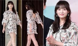 Một năm sau 'Hậu duệ mặt trời', trung úy Yoon lộ chân to vẫn đẹp như nữ thần