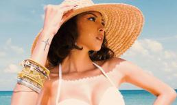 Minh Triệu gợi cảm khoe thân hình đồng hồ cát ở Phú Quốc