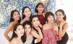 Dàn Hoa, Á hậu hội ngộ tại đám cưới người đẹp thân thiện Hoa hậu Hoàn vũ Trần Hằng Nga