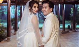 Lộ thêm ảnh Trường Giang - Nhã Phương mặc đồ cưới khiến dân mạng xôn xao