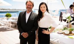 Lý Nhã Kỳ gặp gỡ giới điện ảnh Cannes trong tiệc riêng