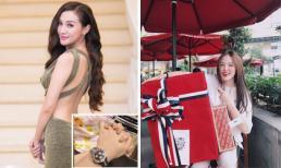 Hot girl và hot boy Việt 31/5/2017: Kelly Nguyễn ẩn ý khoe tình mới, Phương Ly bất ngờ vì được tặng món quà lớn