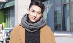 Isaac đẹp như 'soái ca' trải nghiệm trượt tuyết ở Hàn Quốc