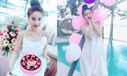 Ca sĩ Bảo Thy tổ chức sinh nhật  giản dị ở Nha Trang