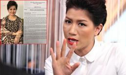 Trang Trần lên tiếng thách thức khi nghệ sĩ Xuân Hương đâm đơn tố cáo