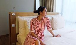 Ngọc Quyên thích thú tận hưởng kỳ nghỉ dưỡng khi về Việt Nam