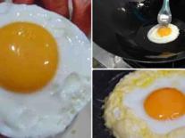 Mẹo đơn giản để chiên và ốp trứng mềm ngon
