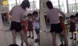 Cô giáo mầm non dùng băng dính quấn chặt miệng bé trai vì không chịu ăn