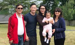 Lộ diện em trai như tài tử điện ảnh của Hoa hậu Hà Kiều Anh