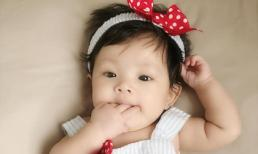 Con gái của Hải Băng đáng yêu lúc được 4 tháng tuổi