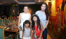 Vợ chồng Anh Thơ, Bình Minh hội ngộ Trương Ngọc Ánh trong tiệc sinh nhật con gái