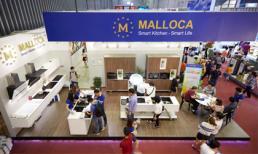 Malloca hút khách với nhiều sản phẩm độc đáo tại Vietbuild HCM