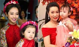Jennifer Phạm và Trịnh Kim Chi tổ chức sinh nhật cho con gái cưng