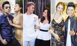 Chuyện tình ồn ào của loạt sao nam Việt và người yêu có vòng một 'khủng'