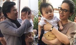 Cặp song sinh của Thanh Bùi lần đầu lộ diện trước công chúng