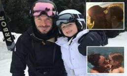 Bị đồn là gia đình thích hôn môi con gái ruột, David Beckham đã phản ứng lại thế này đây