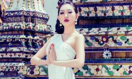 Hoa hậu Huỳnh Thúy Anh phát triển hình ảnh ra quốc tế