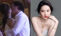 Bố nuôi tỷ phú của Lưu Diệc Phi 'gây sốc' khi ôm hôn diễn viên kém 30 tuổi trên phố
