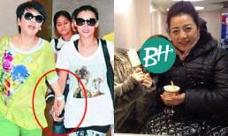 Biểu cảm 'không ai giống ai' của mỹ nhân Hoa ngữ khi đứng cạnh bố mẹ chồng