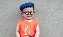 Ái Châu khoe ảnh con trai đáng yêu như thiên thần khi tròn 2 tuổi