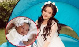Cận cảnh gương mặt xinh xắn của con gái Vy Oanh