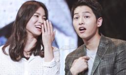 Song Joong Ki tiết lộ lý do kết hôn sớm: 'Vì người đó là Song Hye Kyo'