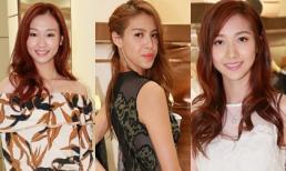 Nhan sắc gây thất vọng của top 12 Hoa hậu Hồng Kông 2017